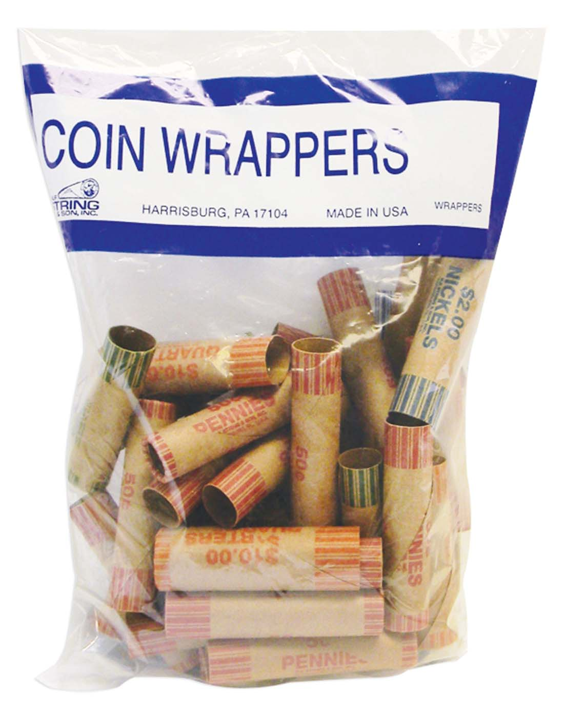 View COIN WRAPPERS 36 COUNT ASSORTED