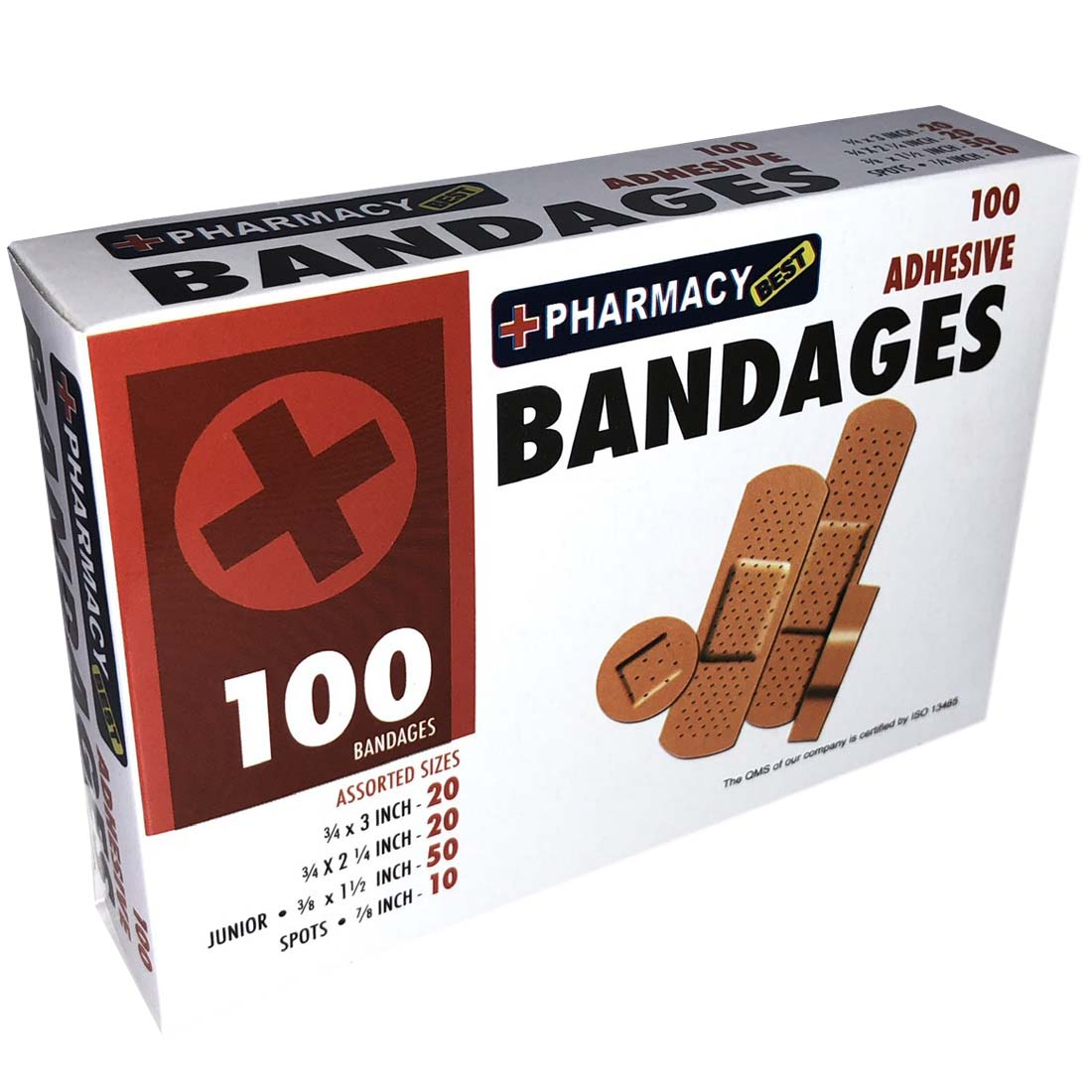 View BANDAGES 100 COUNT FABRIC ASSORTED SIZES
