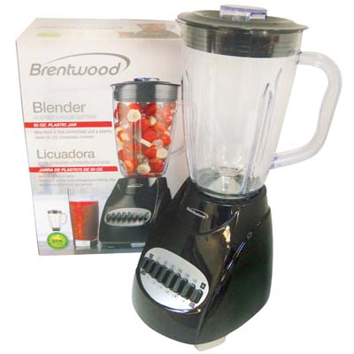 View BRENTWOOD 12 SPEED+PULSE BLENDER 50 OUNCE BLACK CETL LISTED