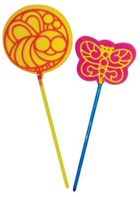 View BUBBLE WAND SET 2 PCS SUPER JUMBO 7 INCH & 8 INCH PREPRICED $1.00