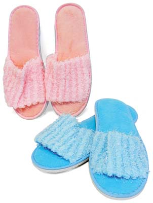 View LADIES SLIPPERS ASSORTED COLORS & SIZES