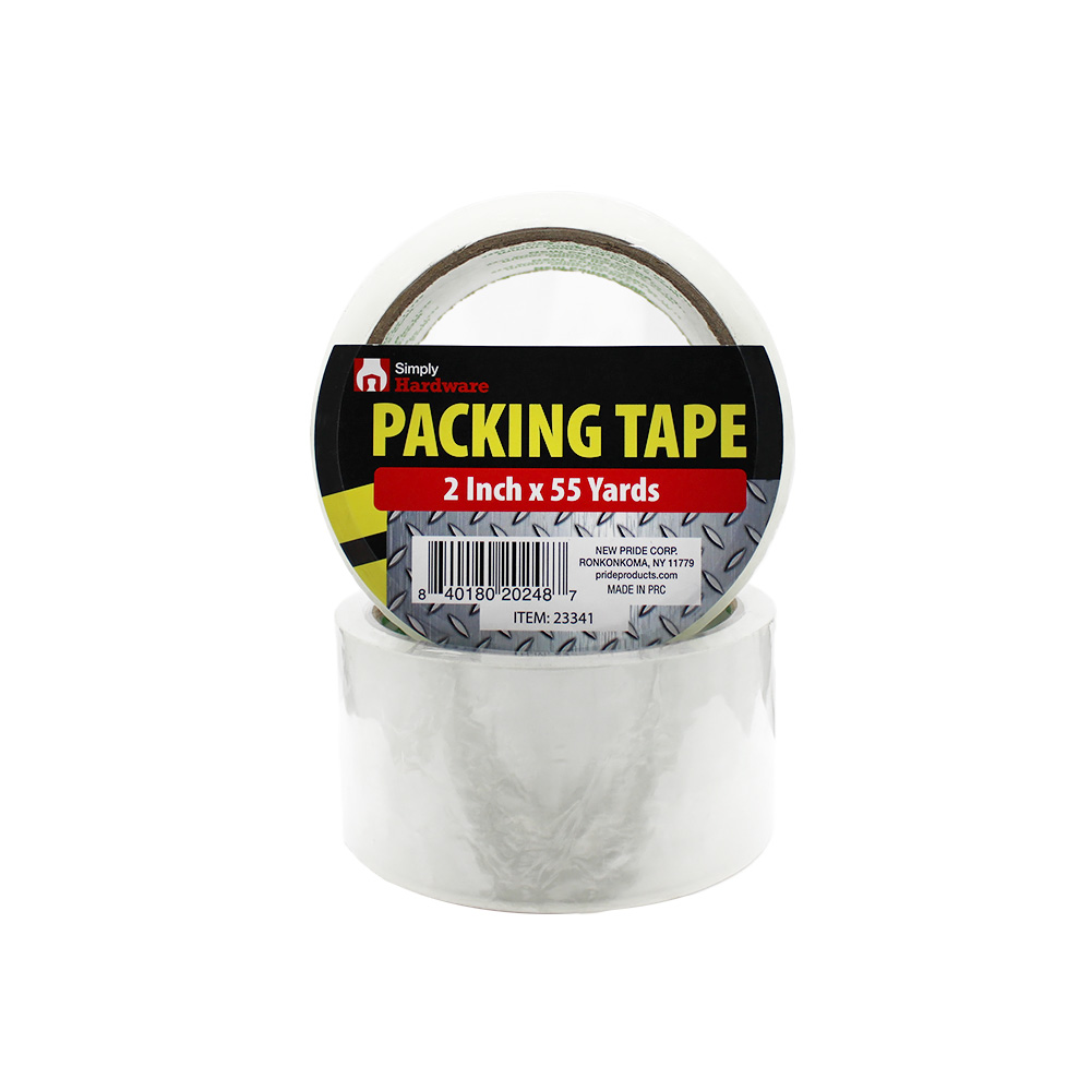 View PACKING TAPE MEDIUM 2 INCH X 55 YARDS CLEAR