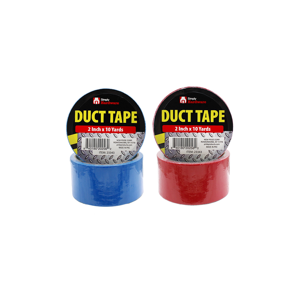 View DUCT TAPE 2 INCH X 10 YARDS ASSORTED COLORS