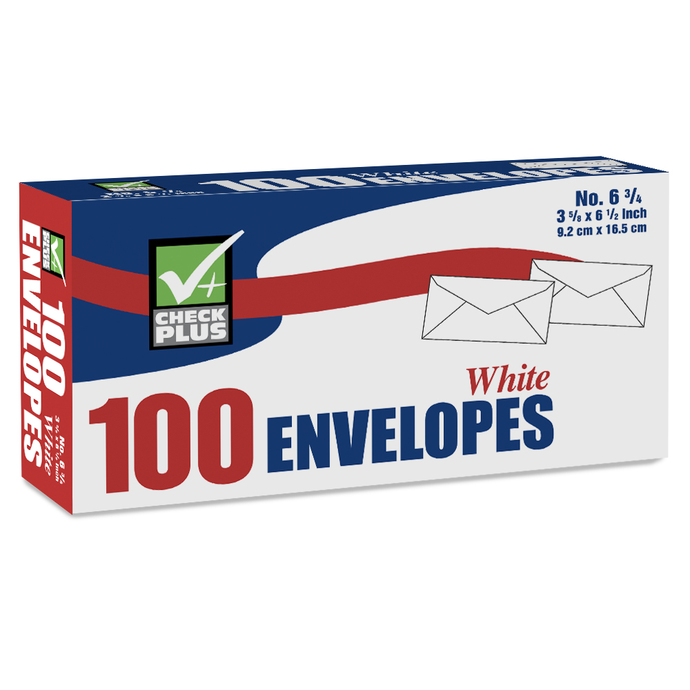 View WHITE ENVELOPE 100 COUNT #6