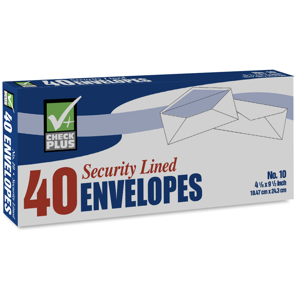 View SECURITY ENVELOPE 40 COUNT #10