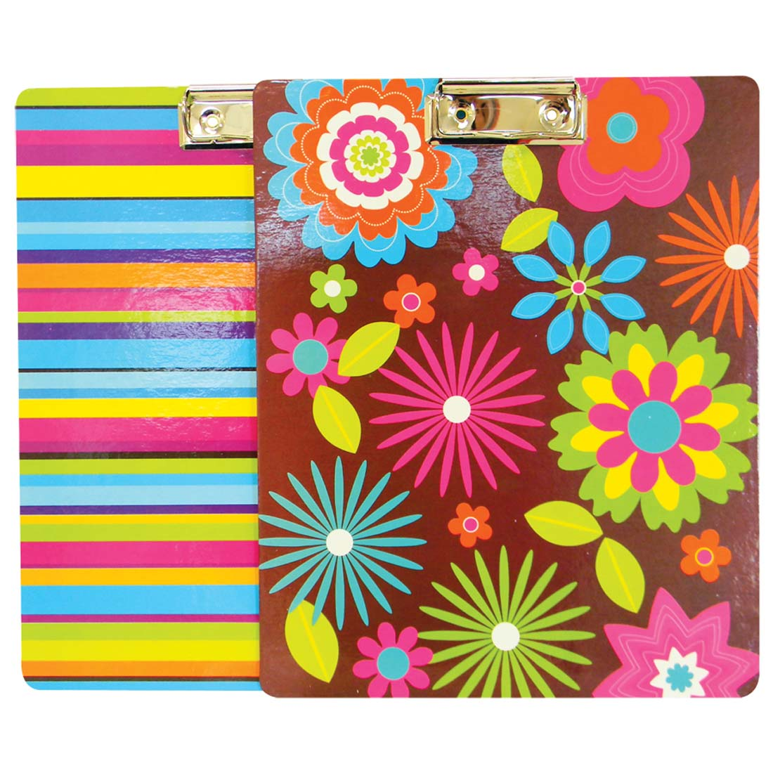 View CLIP BOARD 9 X 11 INCH ASSORTED COLORS & DESIGNS
