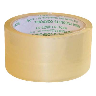 View PACKING TAPE MEDIUM CLEAR 2 INCH X 110 YARDS **MUST BE BROKEN**