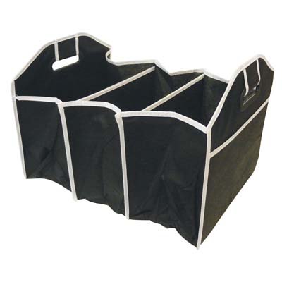 View TRUNK ORGANIZER 12.5 X 21 X 12.5 INCH COLLAPSIBLE 3 SECTION