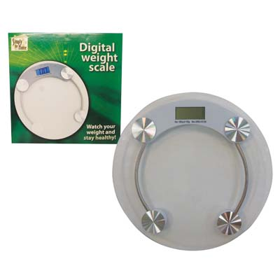 "View DIGITAL WEIGHT SCALE ""MAXIMUM WEIGHT CAPACITY 330 LBS"""