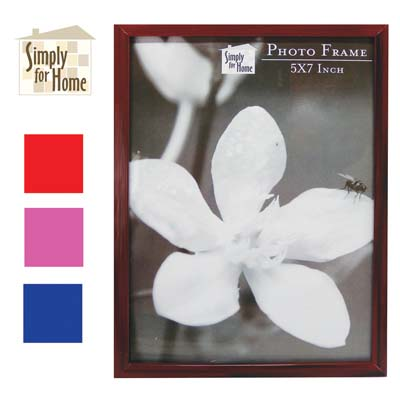 View PLASTIC PHOTO FRAME 5 X 7 INCH ASSORTED COLORS