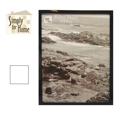 View PLASTIC PHOTO FRAME 6 X 8 INCH BLACK/WHITE