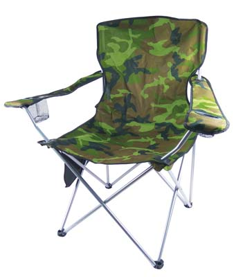 View CAMPING CHAIR JUMBO 40 X 40 X 24 INCH ARMY DESIGN