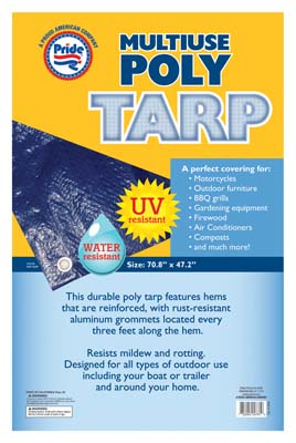 View POLY TARP 70.8 X 47.2 INCH MULTI-PURPOSE