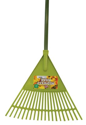 View LEAF RAKE 18 INCH WITH 5 FOOT HANDLE