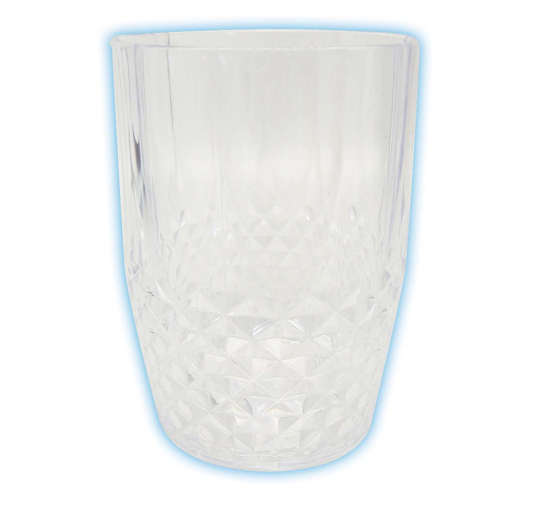 View DRINKING WATER GLASS 16 OZ CRYSTAL PLASTIC