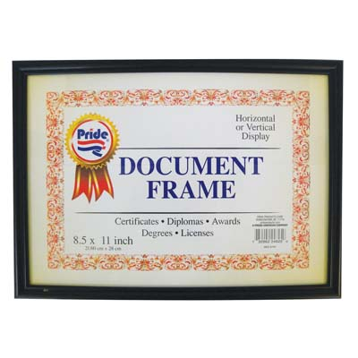 View DOCUMENT FRAME 11 X 8.5 INCH