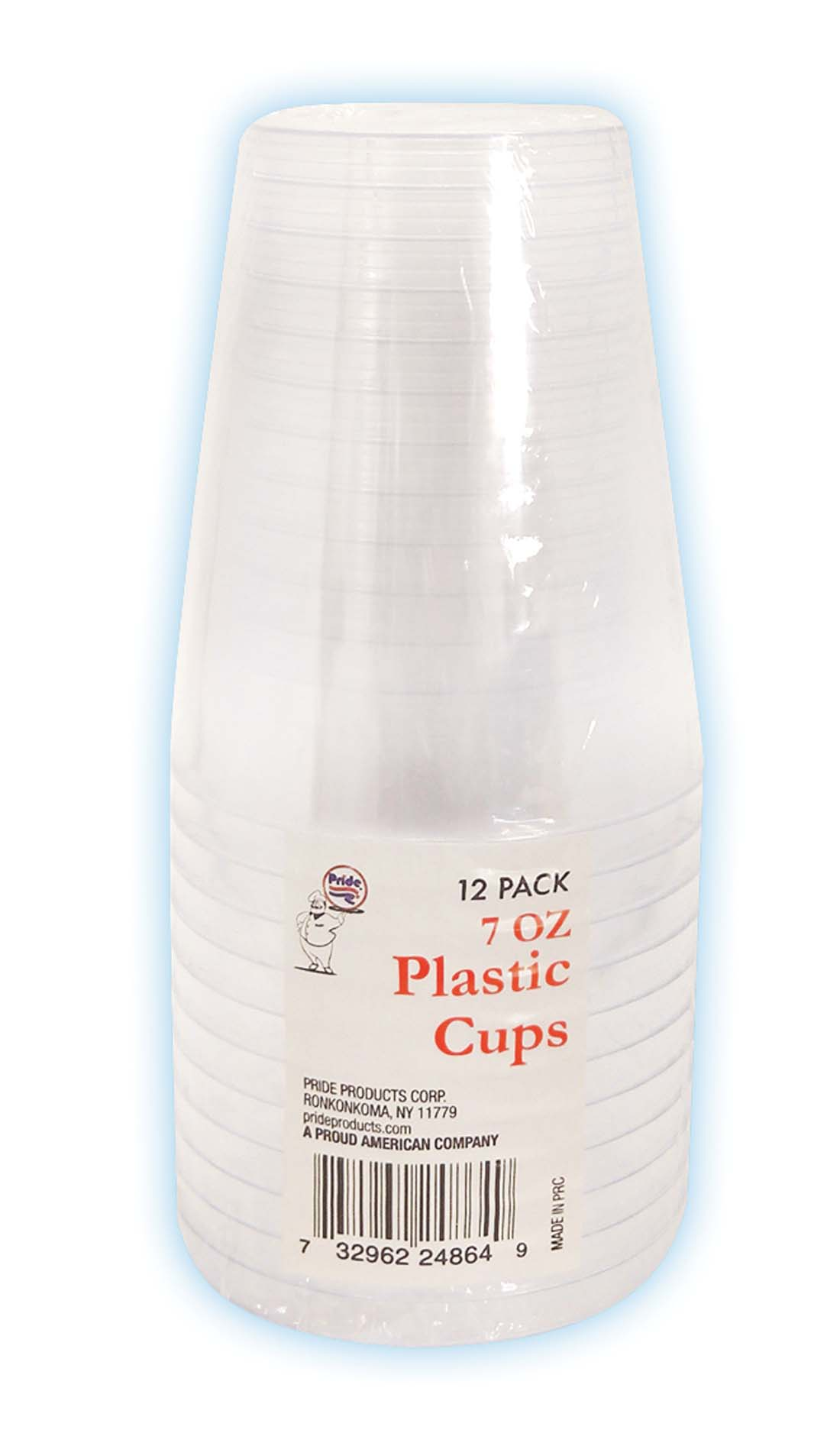 View DRINKING CUP 7 OUNCE 12 PACK CRYSTAL PLASTIC