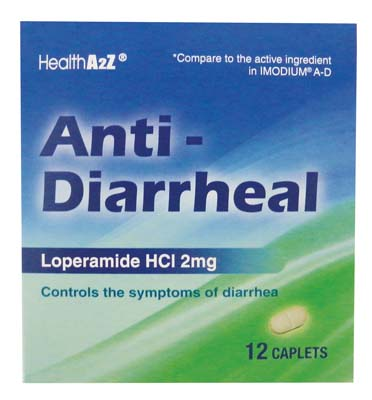 "View ANTI DIARRHEAL CAPLETS 12 CT 2 MG ""COMPARE TO IMODIUM A-D"" EXP 12/2018"
