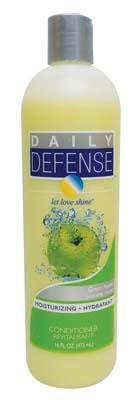 View DAILY DEFENSE CONDITIONER 16 OZ GREEN APPLE