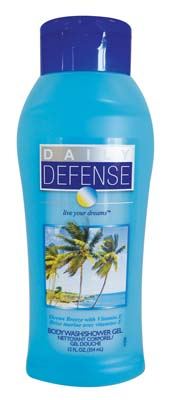 View DAILY DEFENSE BODY WASH 12 OZ OCEAN BREEZE