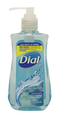 View DIAL LIQUID HAND SOAP 7.5 OZ SPRING WATER **MADE IN USA**