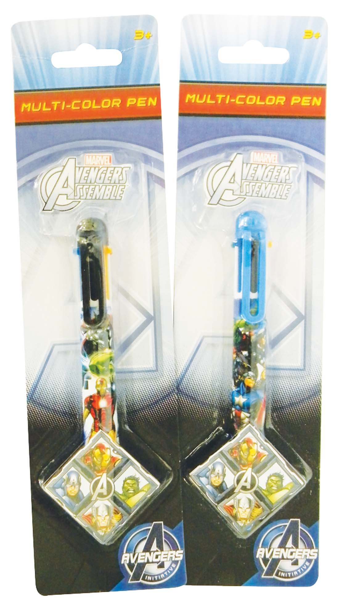 View AVENGERS MULTI-COLOR PEN 6 COLOR INKS 2 ASSORTED STYLES