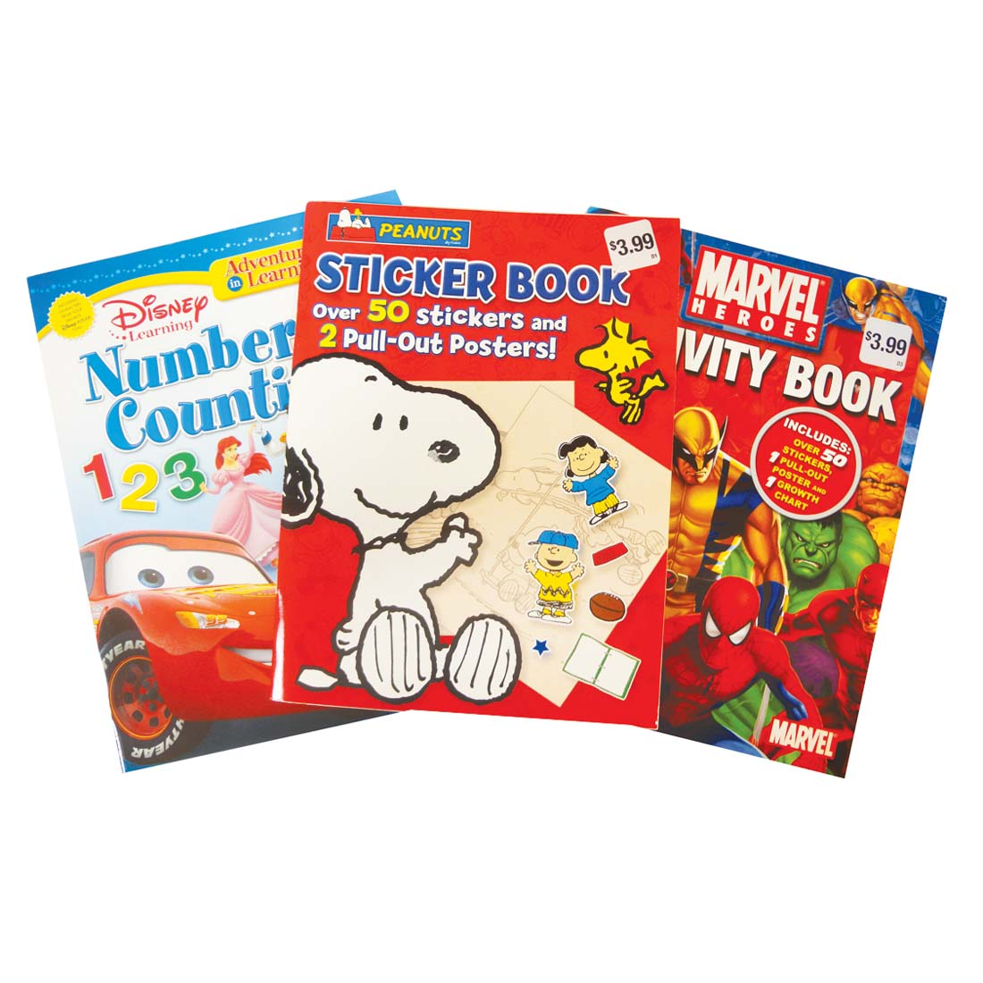 View ACTIVITY BOOK ASSORTED DESIGNS PREPRICED $3.99