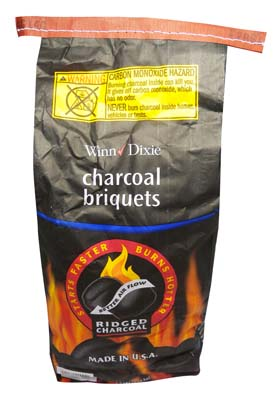 View CHARCOAL BRIQUETS 8.3 LB RIDGED *USA*