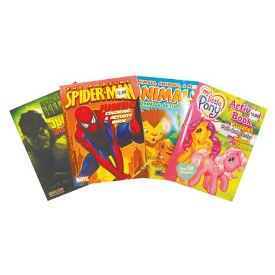 View ACTIVITY BOOK ASSORTED DESIGNS JUMBO PREPRICED $2.99
