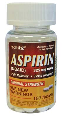 "View ASPIRIN 100 COUNT 325 MG ""COMPARE TO BAYER"""