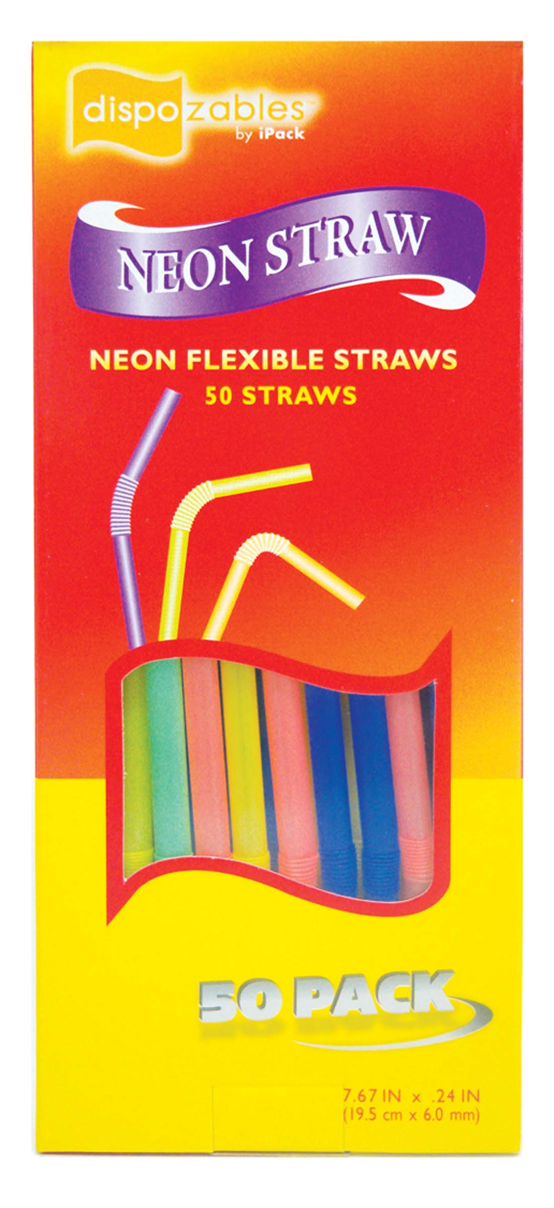 View FLEXIBLE STRAWS 50 COUNT