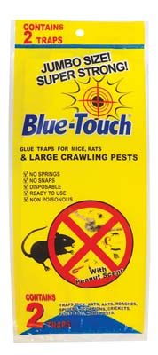 View GLUE TRAP 2 PK JUMBO MICE/ RATS/ CRAWLING PESTS IN DISPLAY PEANUT SCENT