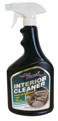 View PRO POWER INTERIOR CAR CLEANER 22 OZ **MADE IN USA**