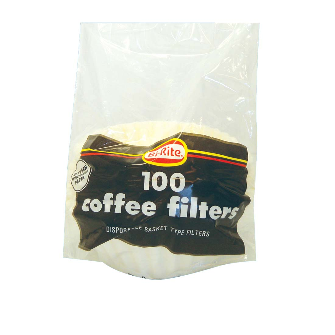 View COFFEE FILTERS 100 CT BASKET