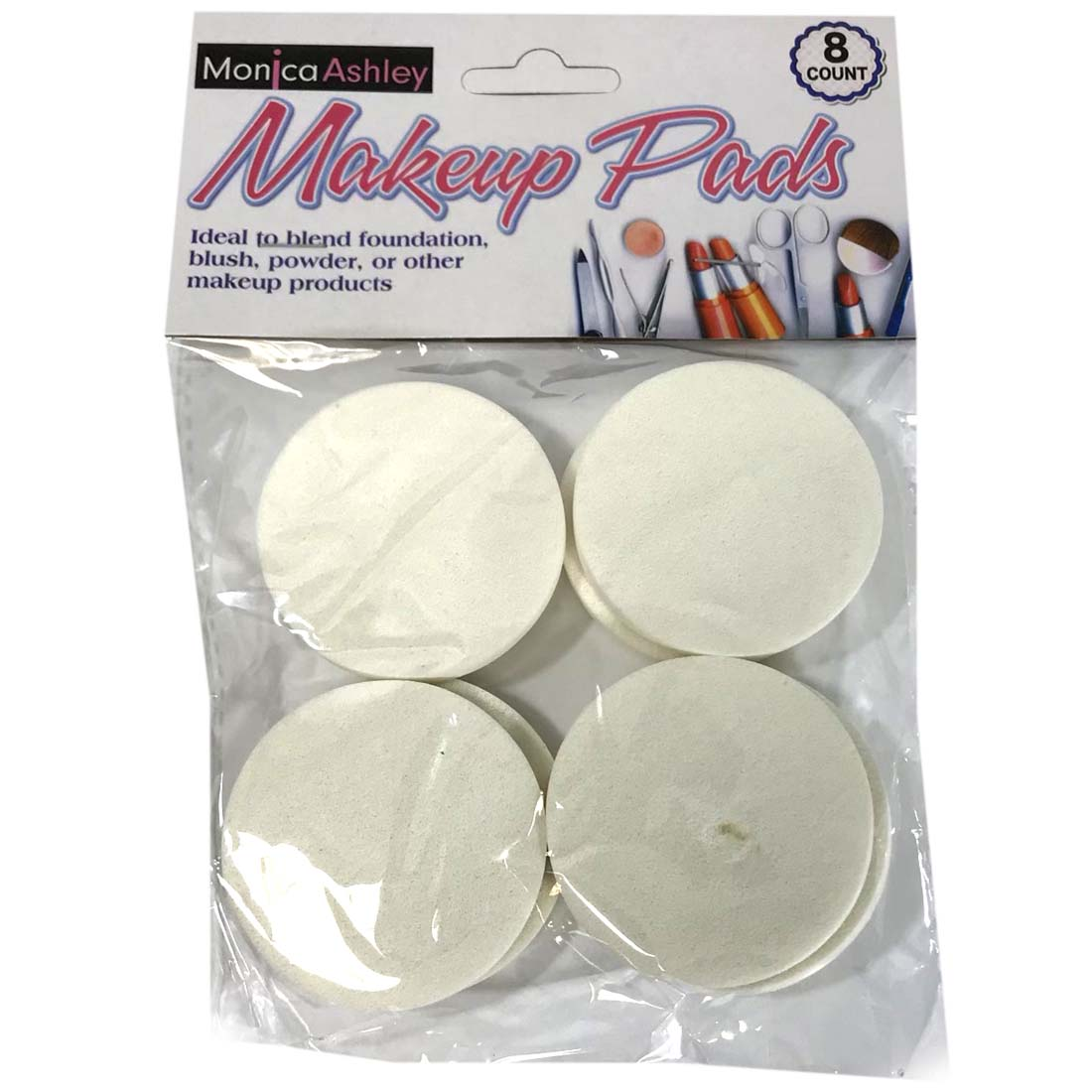 View MAKE UP SPONGES 8 PIECE 2 INCH