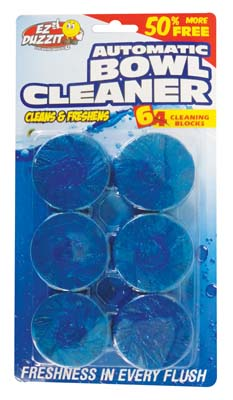 View AUTOMATIC TOILET BOWL CLEANER 6 PACK 10.5 OZ TOTAL