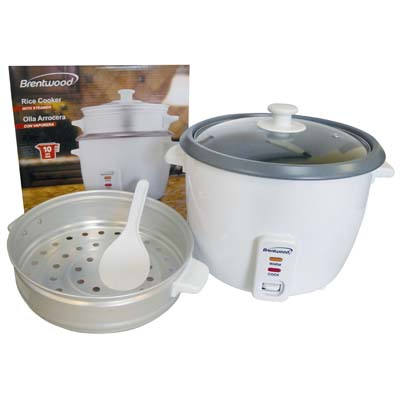 View BRENTWOOD RICE COOKER&STEAMER 1.8 LITER UL LISTED