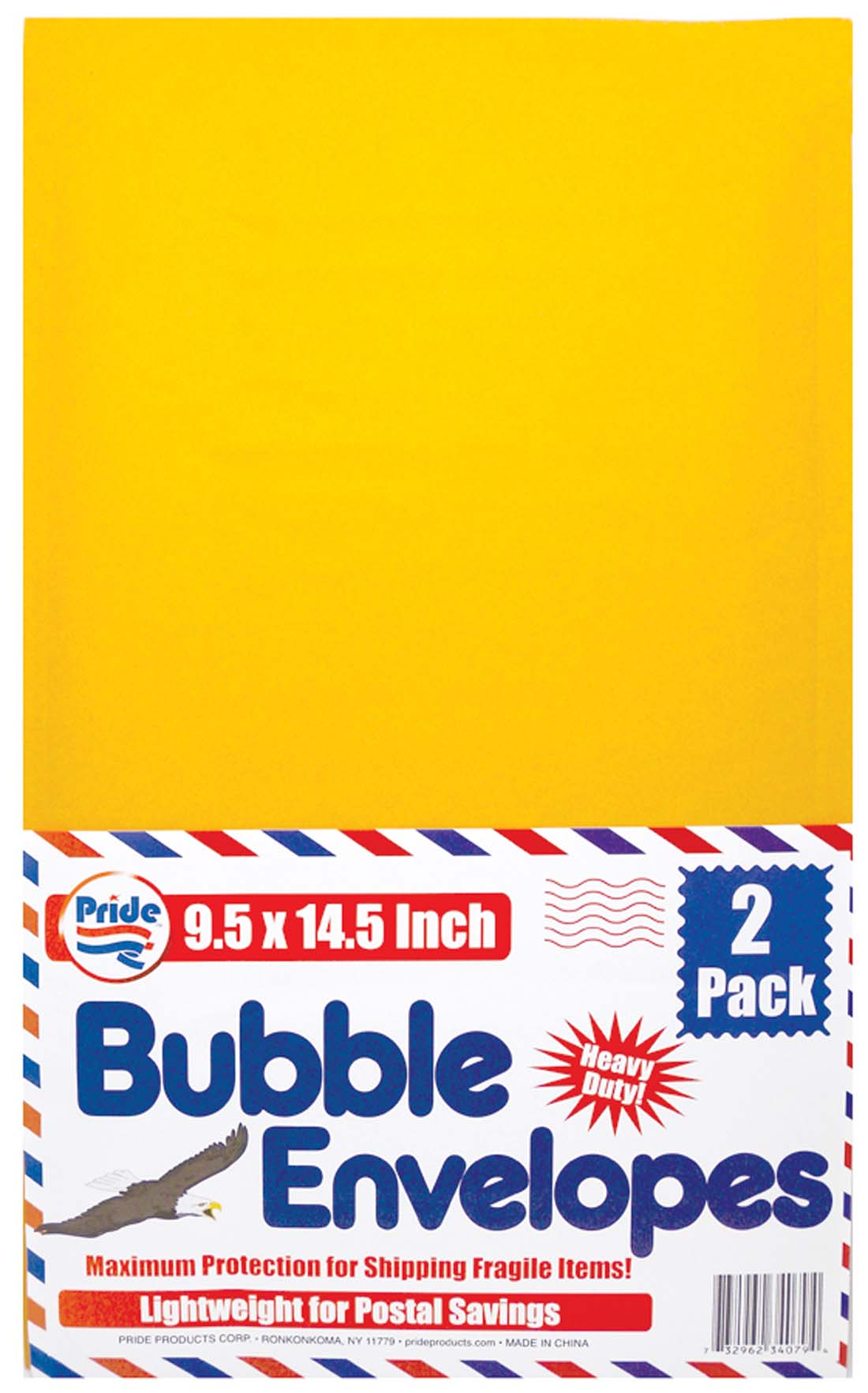 View BUBBLE ENVELOPE 2 PACK 9.5 X 14.5 INCH
