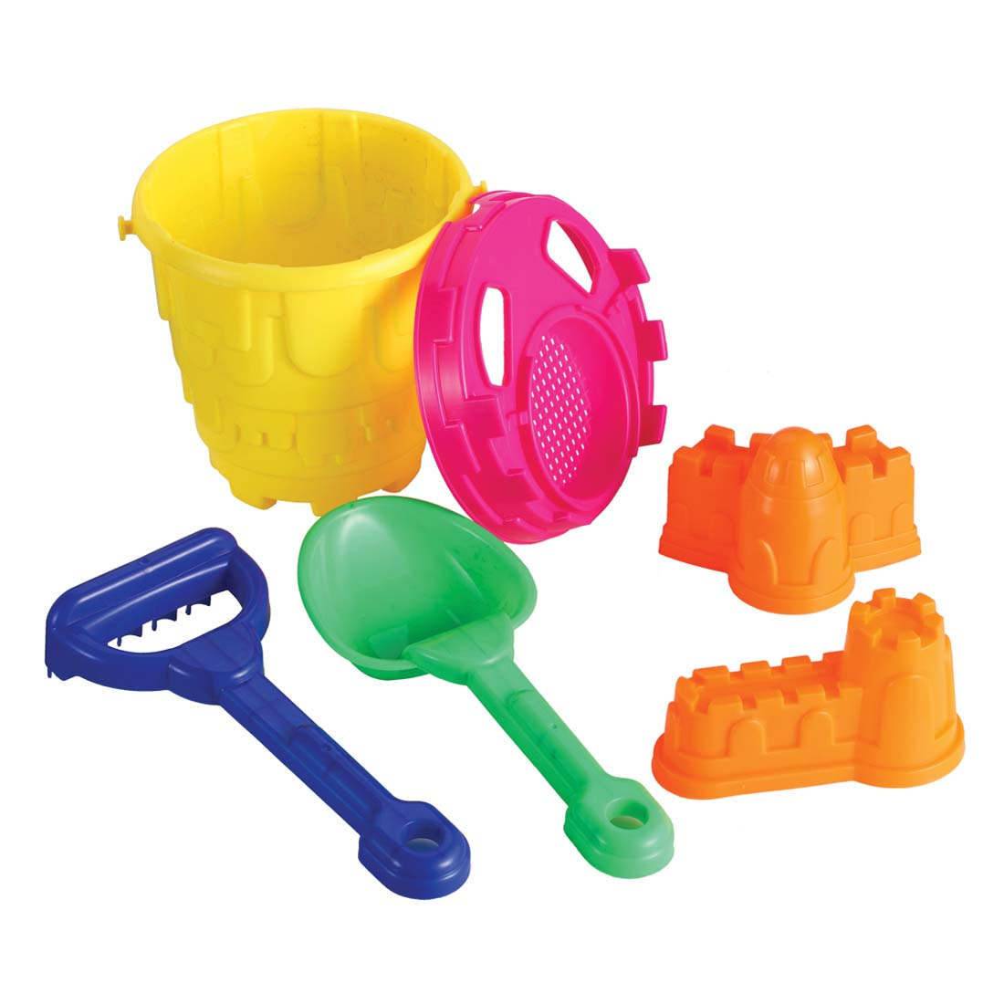 View BEACH BUCKET WITH 6 SAND TOOLS