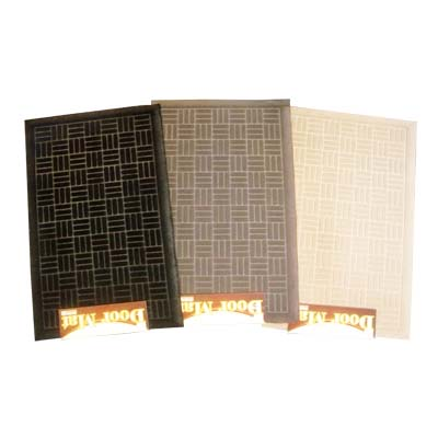 View RUBBER MAT 18X30 INCHES ASSORTED COLORS