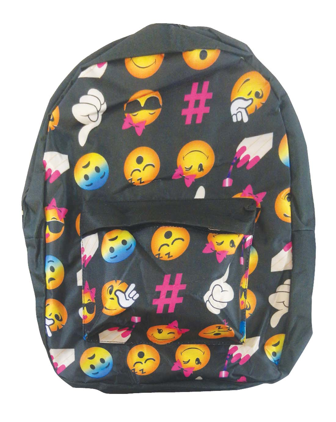 View PRIDE BACK PACK 16X12X6 INCHES EXPRESSION FACE DESIGN