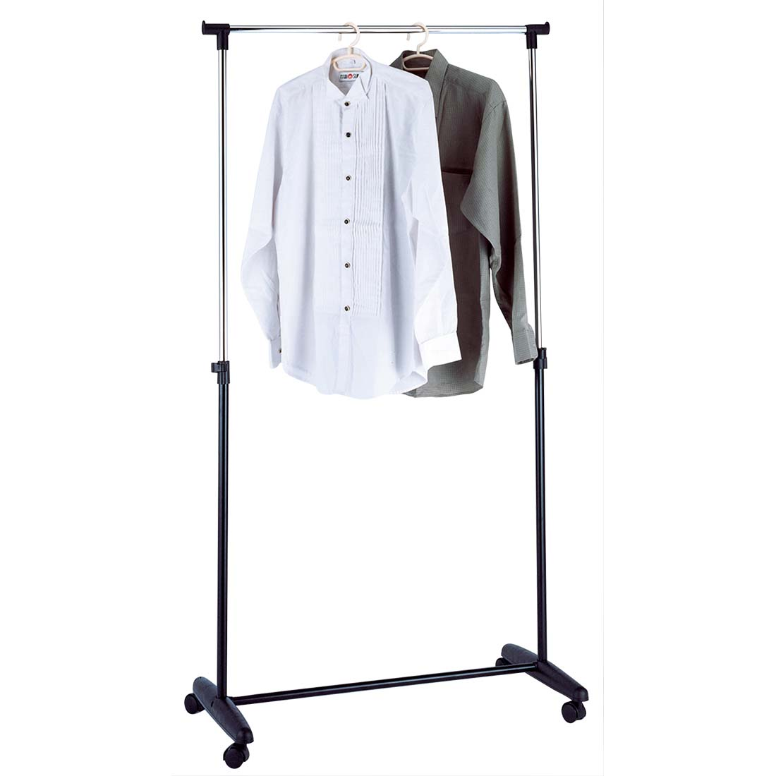 View CLOTHING RACK 33X17X63 INCHES SINGLE POLE ADJUSTABLE