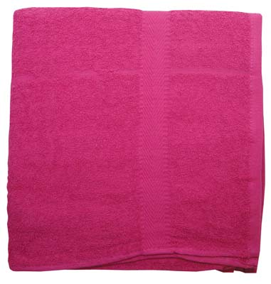 View BATH TOWEL 24 X 44 INCH COTTON  COLORS MAY VARY