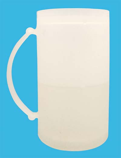 View BEER MUG WITH FREEZING GEL 14 OUNCES