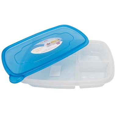 View FOOD  CONTAINER WITH LID AND 3 SECTIONS 36 OUNCE