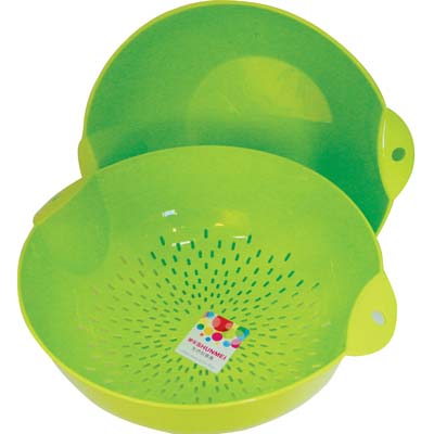 View COLANDER AND MIXING BOWL 11 INCH DIAMETER ASSORTED