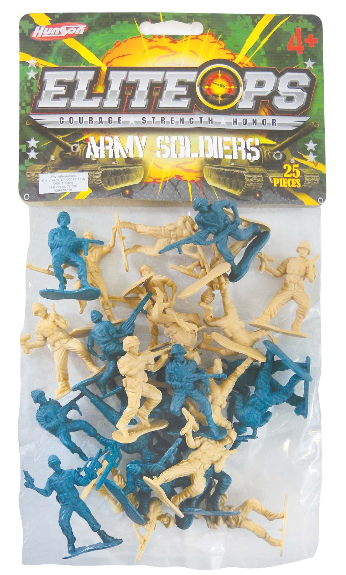 "View ARMY SOLDIERS 2"" 25 PIECES"