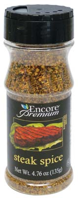 View ENCORE PREMIUM STEAK SPICE 3.95 OZ