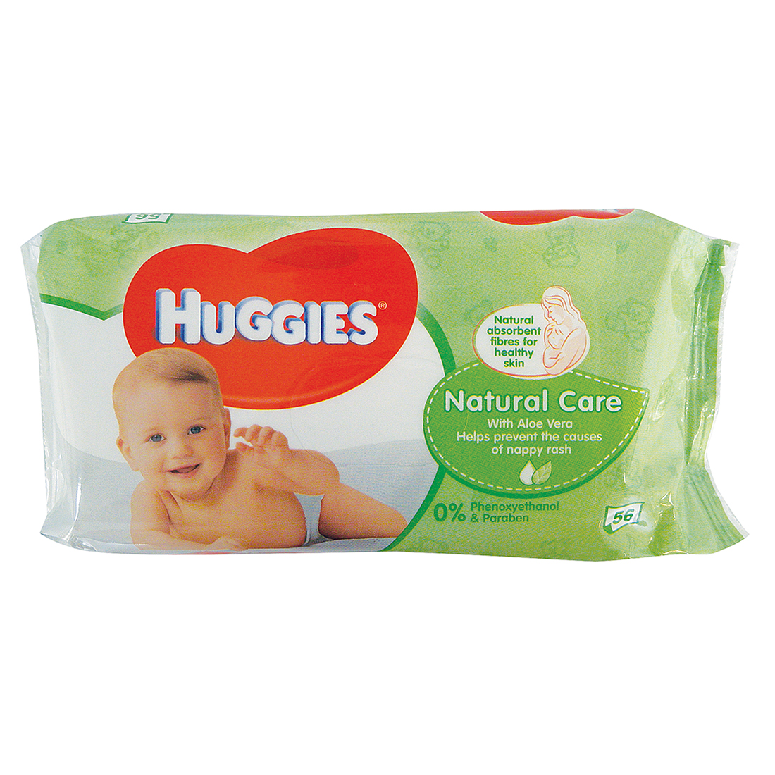 View HUGGIES BABY WIPES 56 COUNT NATURAL CARE
