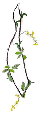 View WISTERIA VINE GARLAND 6 FEET ASSORTED PREPRICED $2.99
